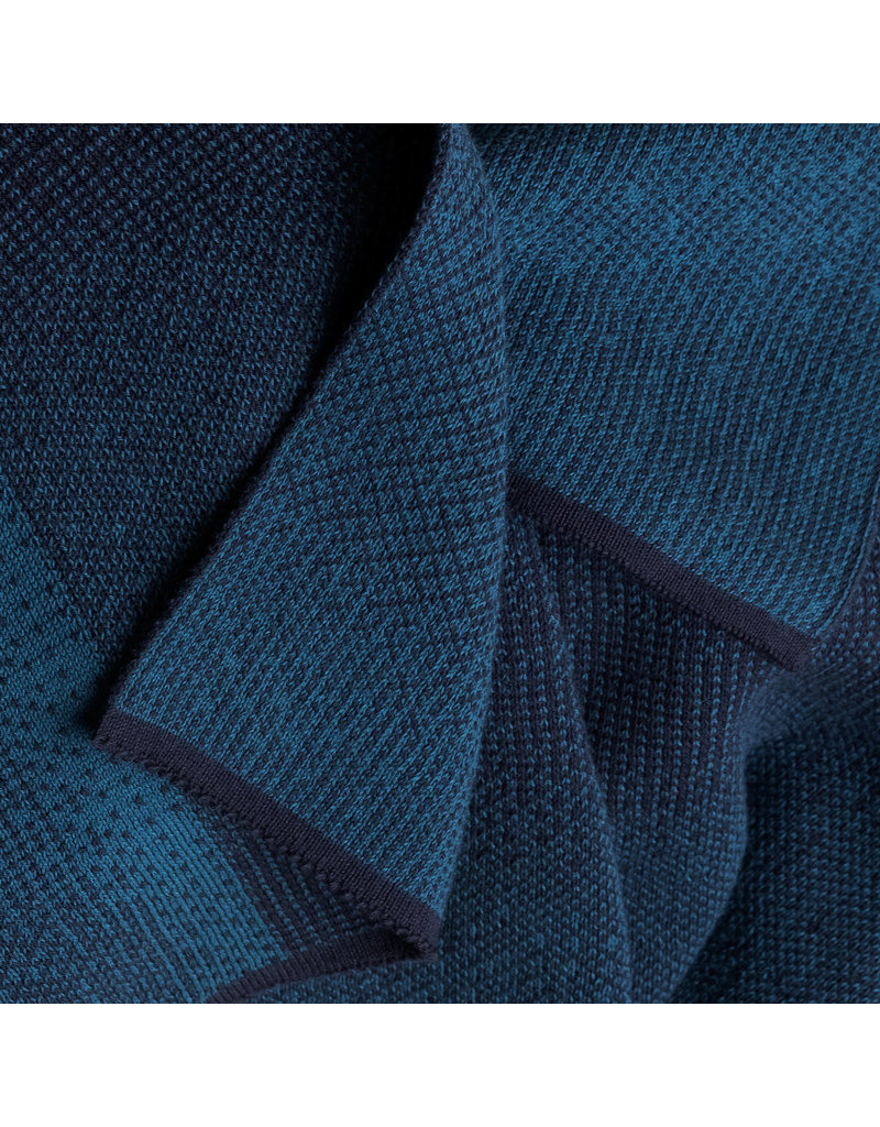 Moonoo Sjaal Moonoo - Palm mixed blue