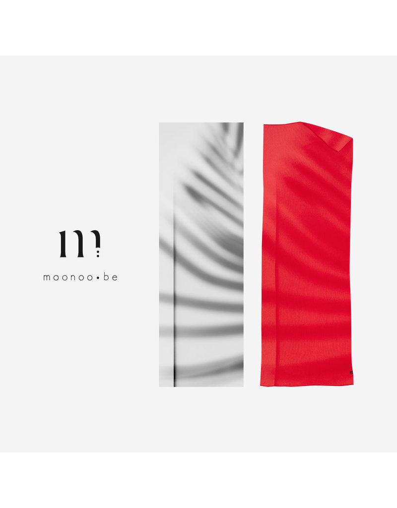 Moonoo Sjaal Moonoo - Palm cayenne red