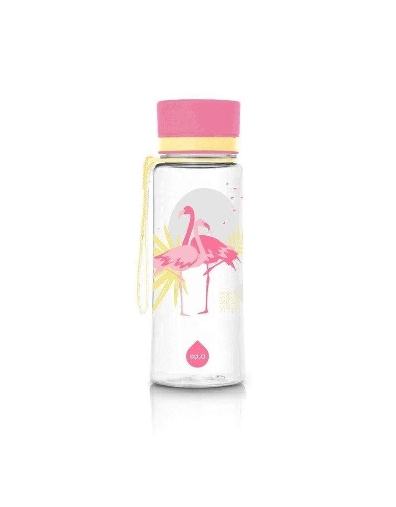 Equa Drinkfles 'Flamingo' - 400 ml