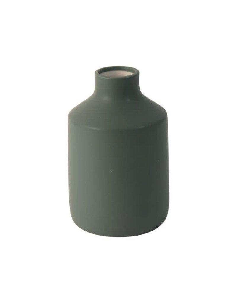 Gusta Vaas groen  ø11,5cm