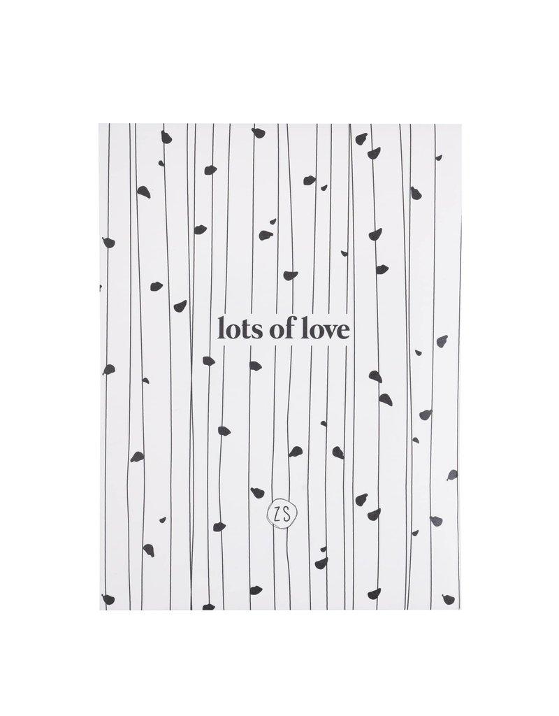 Zusss Geurzakje - wilde bloemen - 'Lots of love'