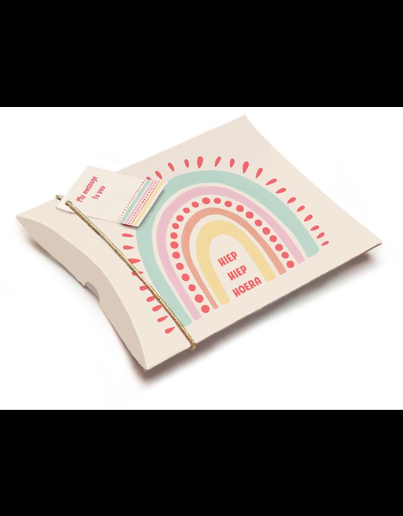 Enfant Terrible Cadeau-doosje voor centje - Regenboog