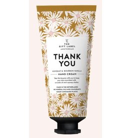 The Gift Label Hand lotion tube - Thank you