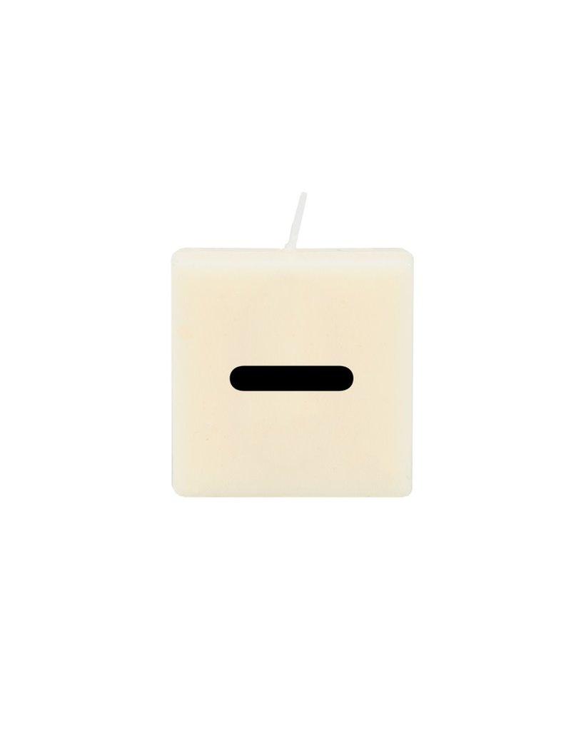 The Gift Label Letter kaarsen - '-'