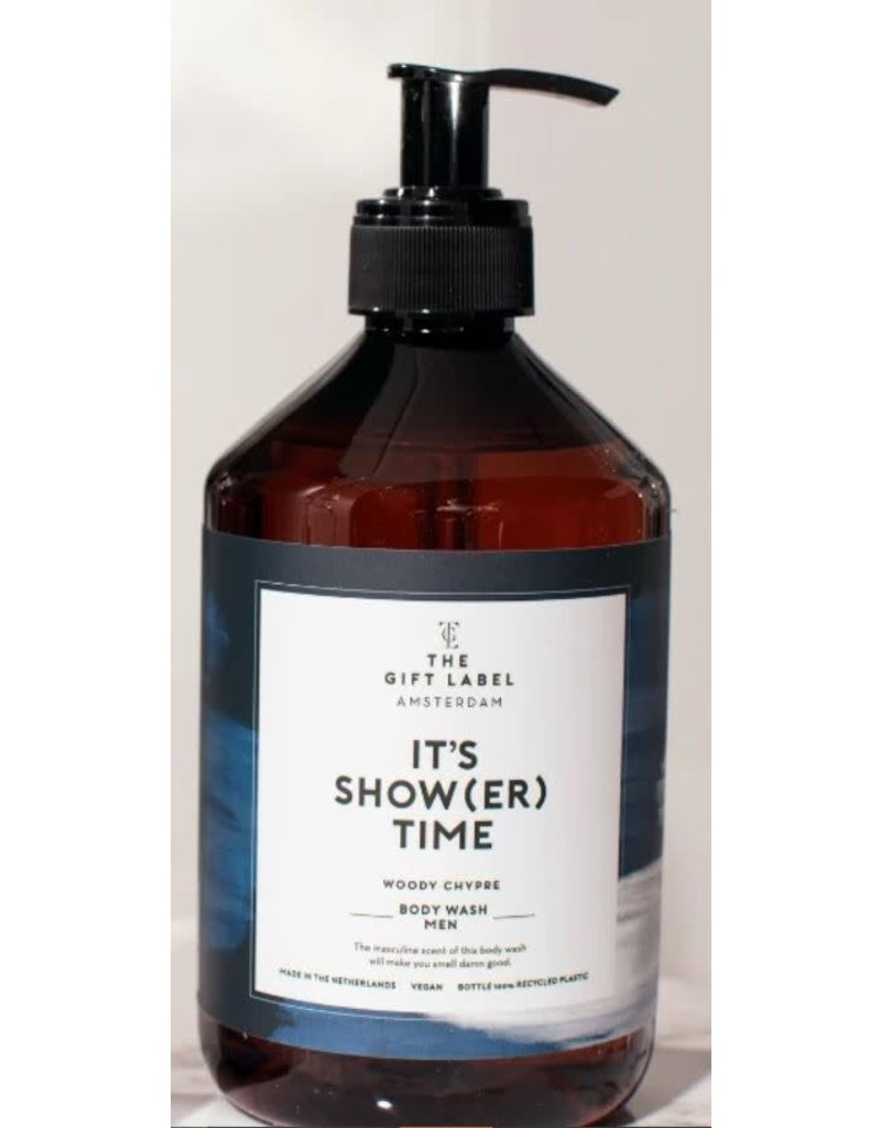The Gift Label Body wash men - It's show(er) time - 500 ml