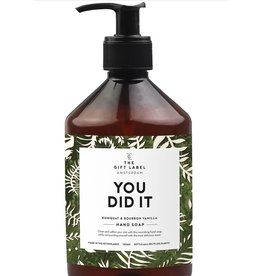 The Gift Label Hand Soap - You did it - 500 ml