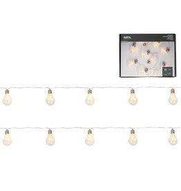 Gusta Glas bulb LED slinger 275cm