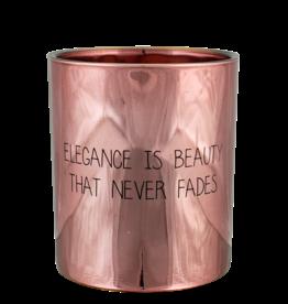 My Flame Lifestyle Geurkaars - 'Elegance is beauty...'