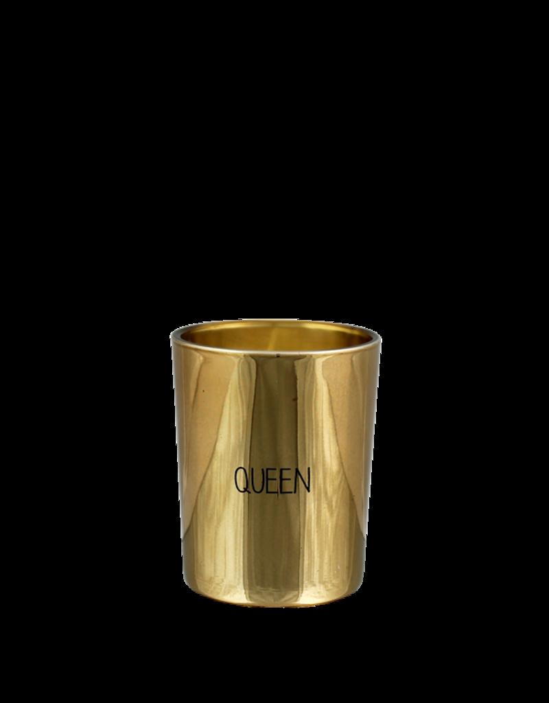 My Flame Lifestyle Geurkaars goud- 'Queen'