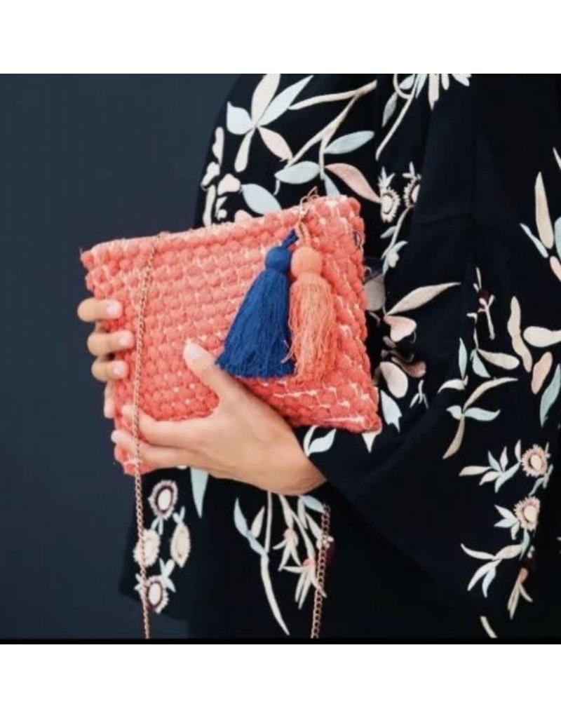 Maison Babou Orange handbag - boho style