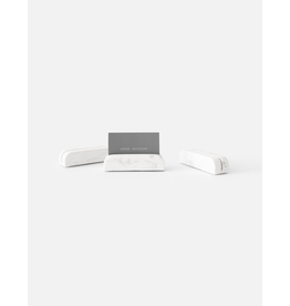 HOUSE RACCOON Bobby Card holders Medium (3x)- White Marble