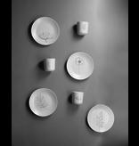 Gusta Set van 4 bordjes met tekening
