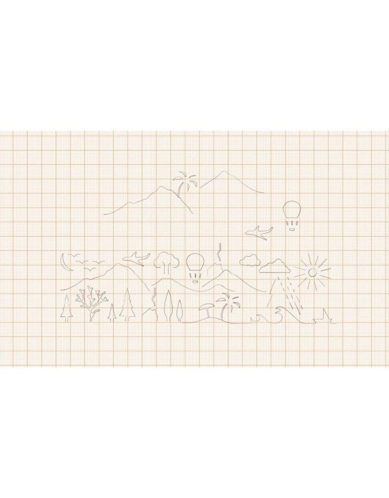 Monkey Business Meetlat 'Landscape' - 20 cm