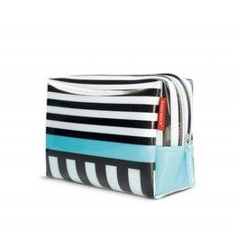 Remember Grote toiletzak 'Black stripes'