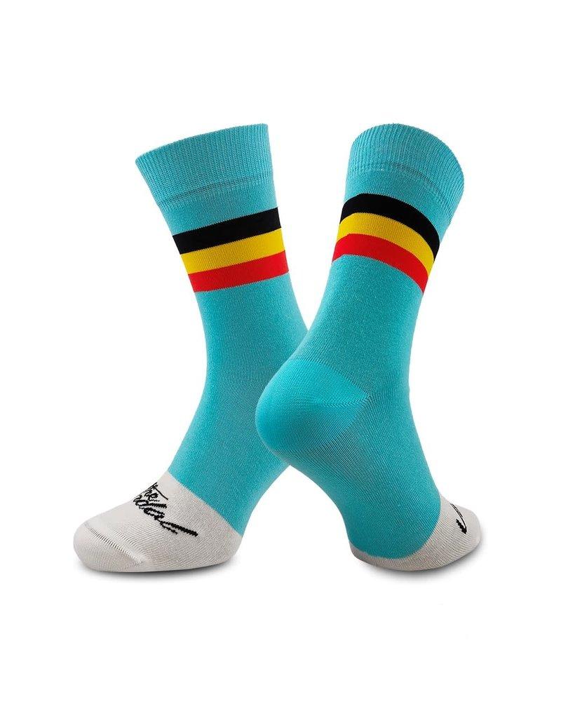 THE VANDAL Casual sokken 'Belgian cycling'