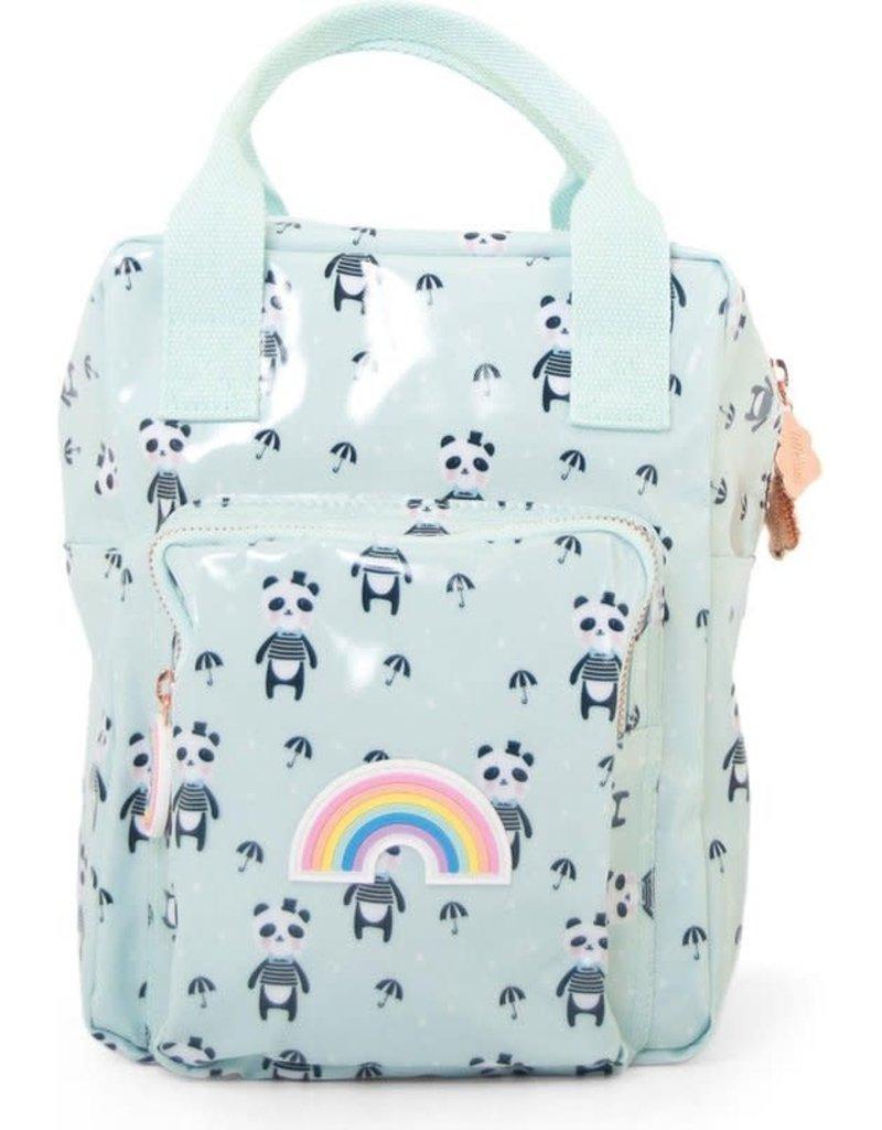 Kado Design Eef Lillemor rug/schoudertasje Panda Mint