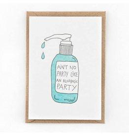 STUDIOFLASH Kaart 'Alcoholic party'