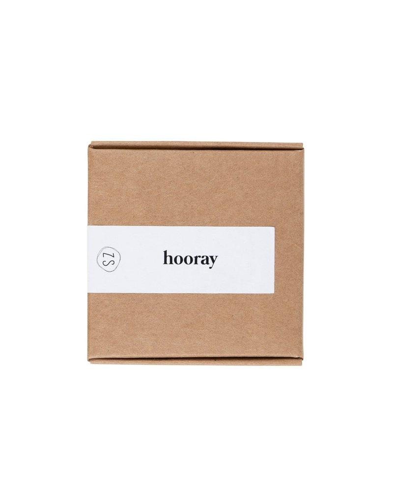 Zusss Doosje met zeep - 'Hooray'
