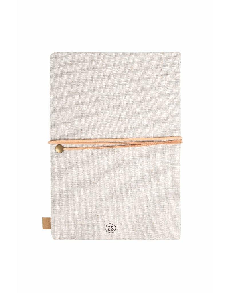 Zusss Notitieboek 'Koester' linnen