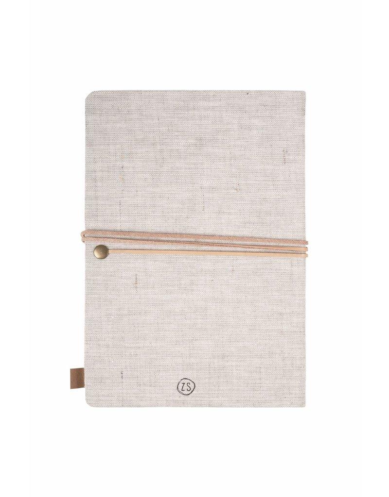 Zusss Notitieboek 'Collect moments' linnen