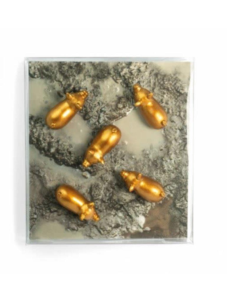 Trendform Magneten - golden babe - set van 5