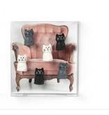 Trendform Magneten - Cats - set van 6