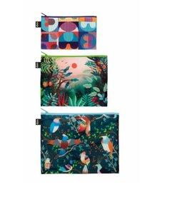 Loqi Zip Pockets H&H - set 3 stuks