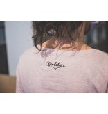 THE VANDAL T-shirt 'We can do it' - roze