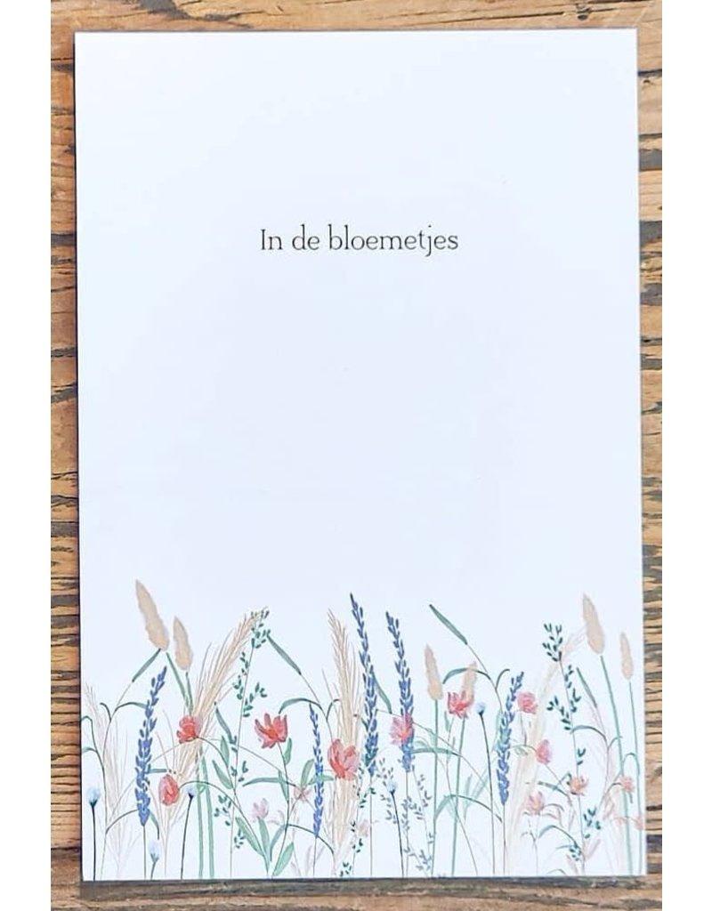 Pas de Susi Kaart Pas de Susi - 'In de bloemetjes' - droogbloemen