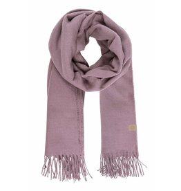 Zusss Basic sjaal met franjes -lila