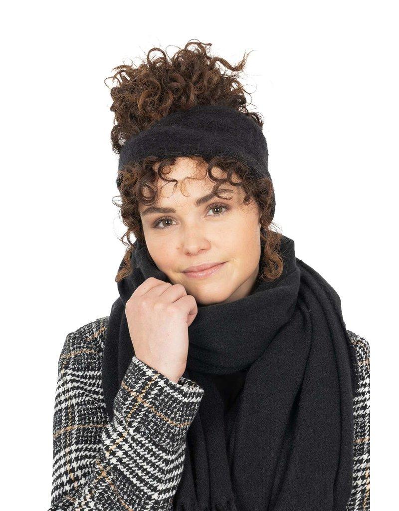 Zusss Warme haarband zwart