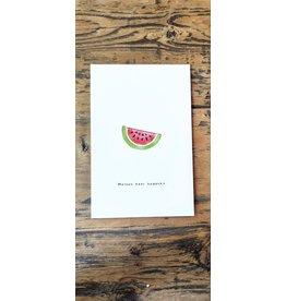 Pas de Susi Kaart Pas de Susi - 'Meloen keer bedankt'