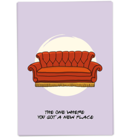 KaartBlanche Kaartje – The one where you got an new place