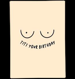 KaartBlanche Kaartje – Tits your birthday