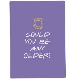 KaartBlanche Kaartje – Could you be any older