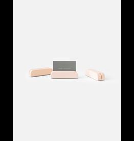 HOUSE RACCOON Bobby Card holders Medium (3x)- Millennial pink