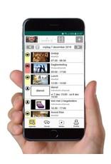 Personal app: alleen voor groepsleden