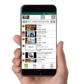 MyWepp Group MyWepp Personal app voor groepsleden