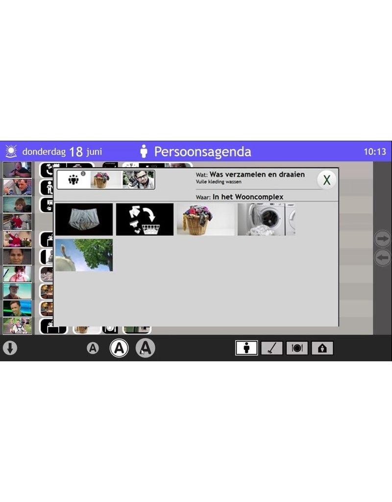 Groepsjaarabonnement Dagbesteding Nieuws- en Planborden (inclusief apps)
