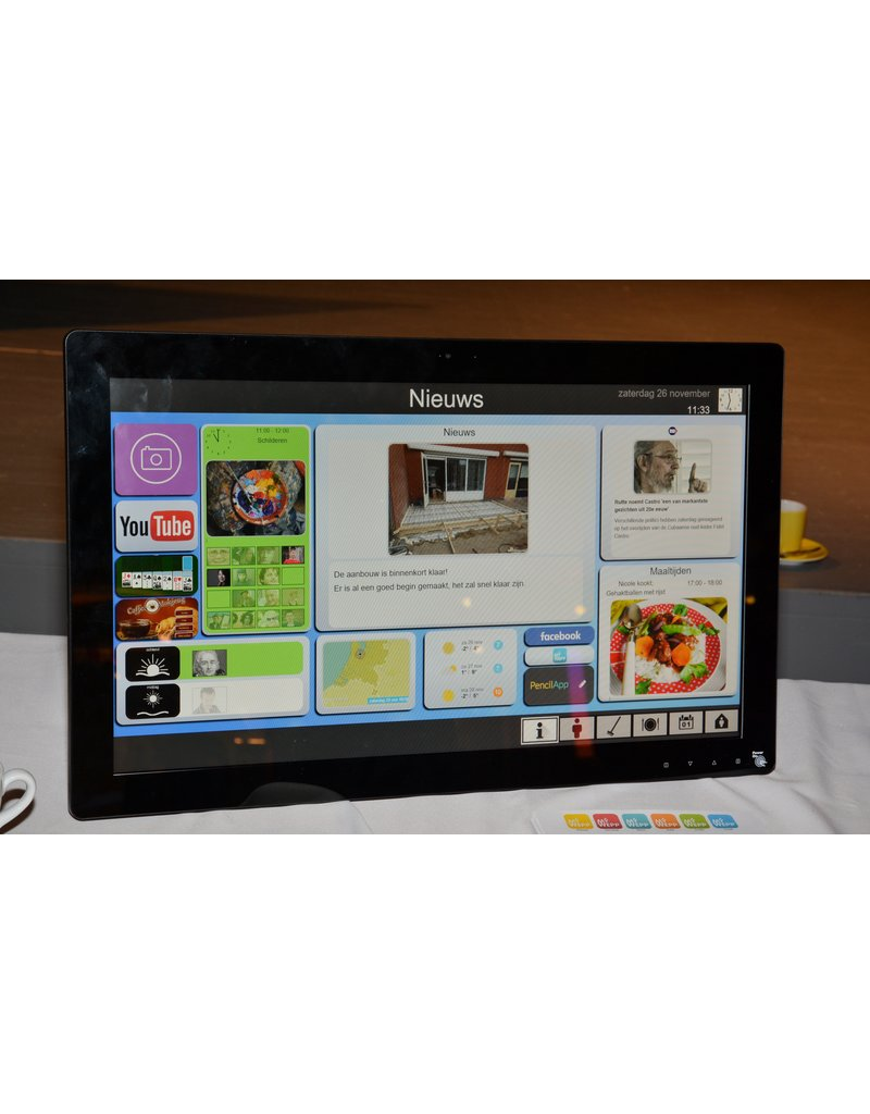 Interactive screen 27 inch (MyWepp subscription and mini PC not included)