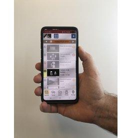 Beheer app: beheer Agenda-horloge van senior