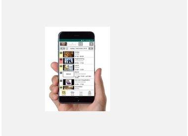 App voor tablet en telefoon