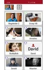 MyWepp Group App voor begeleiders en mantelzorgers om digiborden, Personal app en Guide beeldhorloe te beheren
