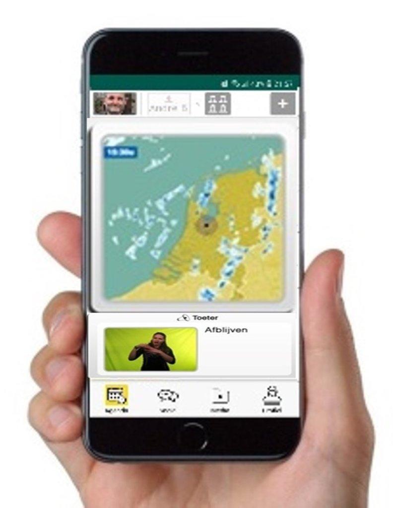 MyWepp Senior MyWepp Senior app voor tablet en telefoon  een maand uitproberen