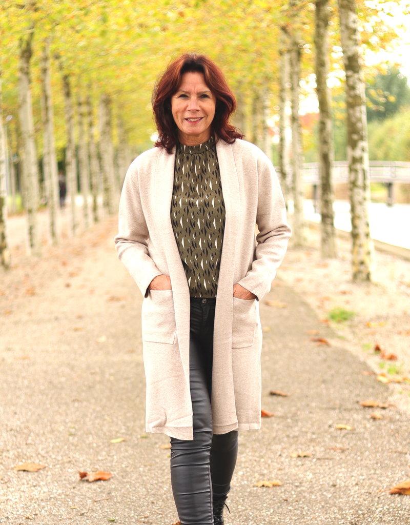 Verwonderend Beige vest met sjaalkraag | LiBi Fashion & Accessories - LiBi FY-41