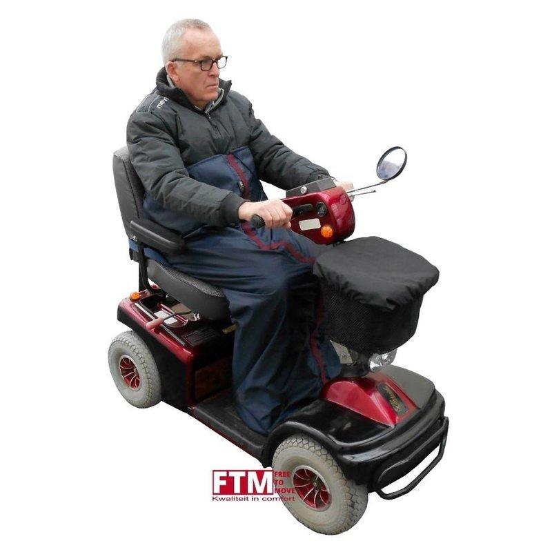 Warme voetenzak voor de scootmobiel of rolstoel - koopje