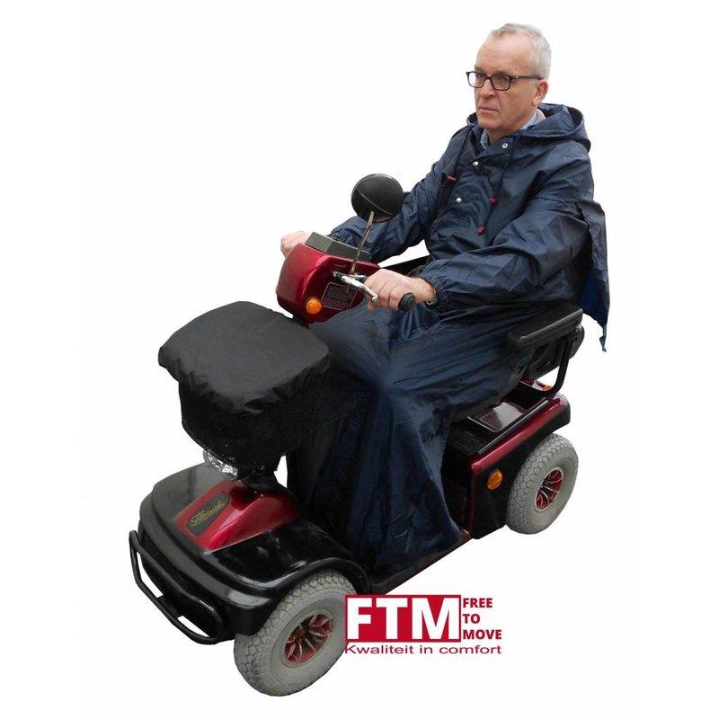 Free to move Regencape/regenponcho rolstoel of scootmobiel