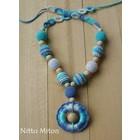 Nitto Miton Stilkette hell-blau