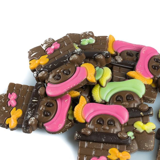 Chocolade pietjes