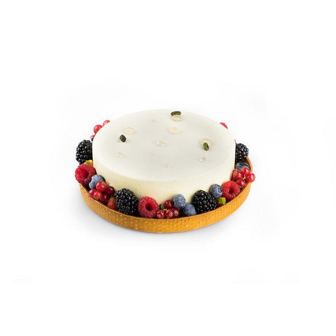 Gâteau fruits rouges à la vanille
